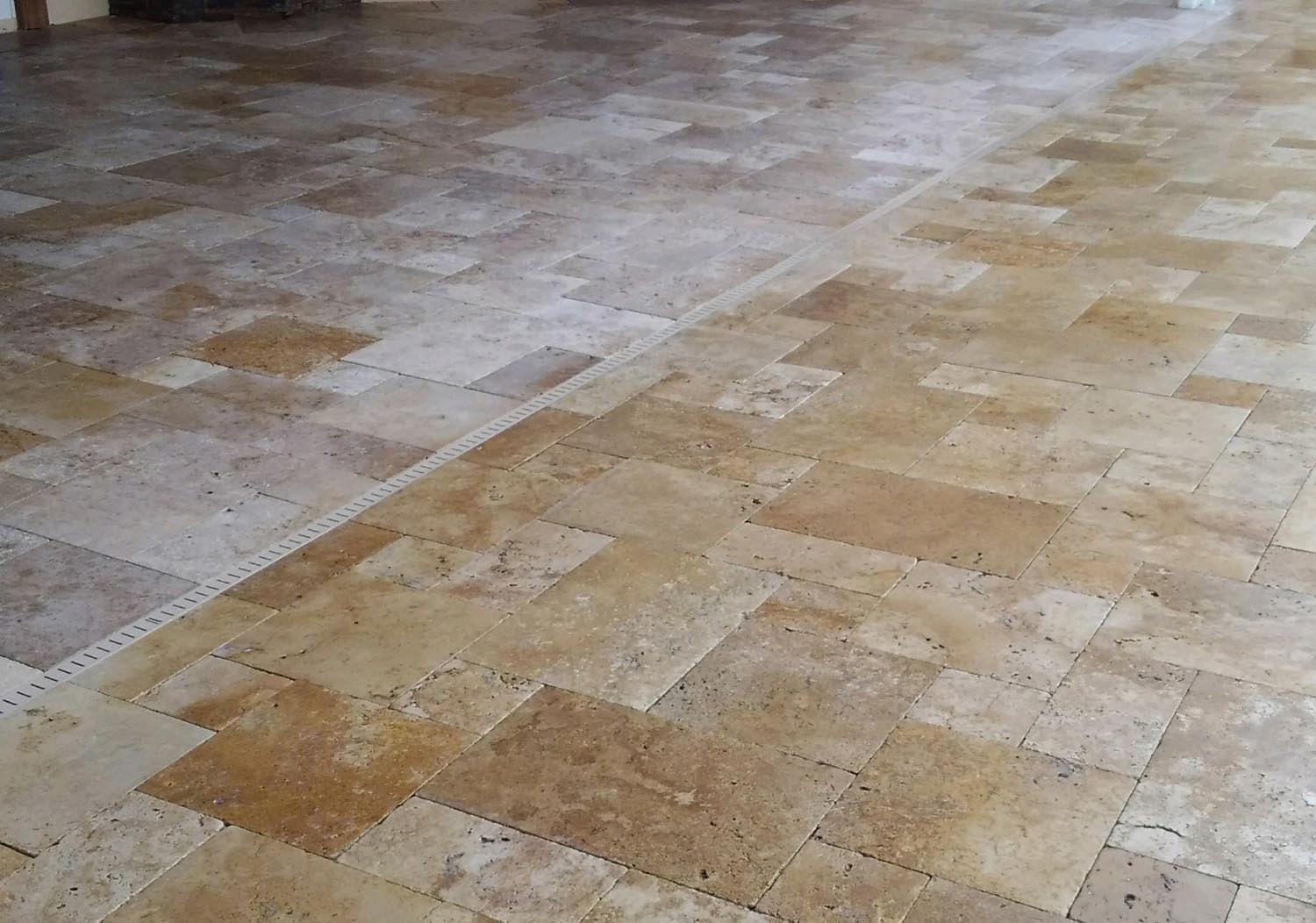 Travertine Color Enhanced