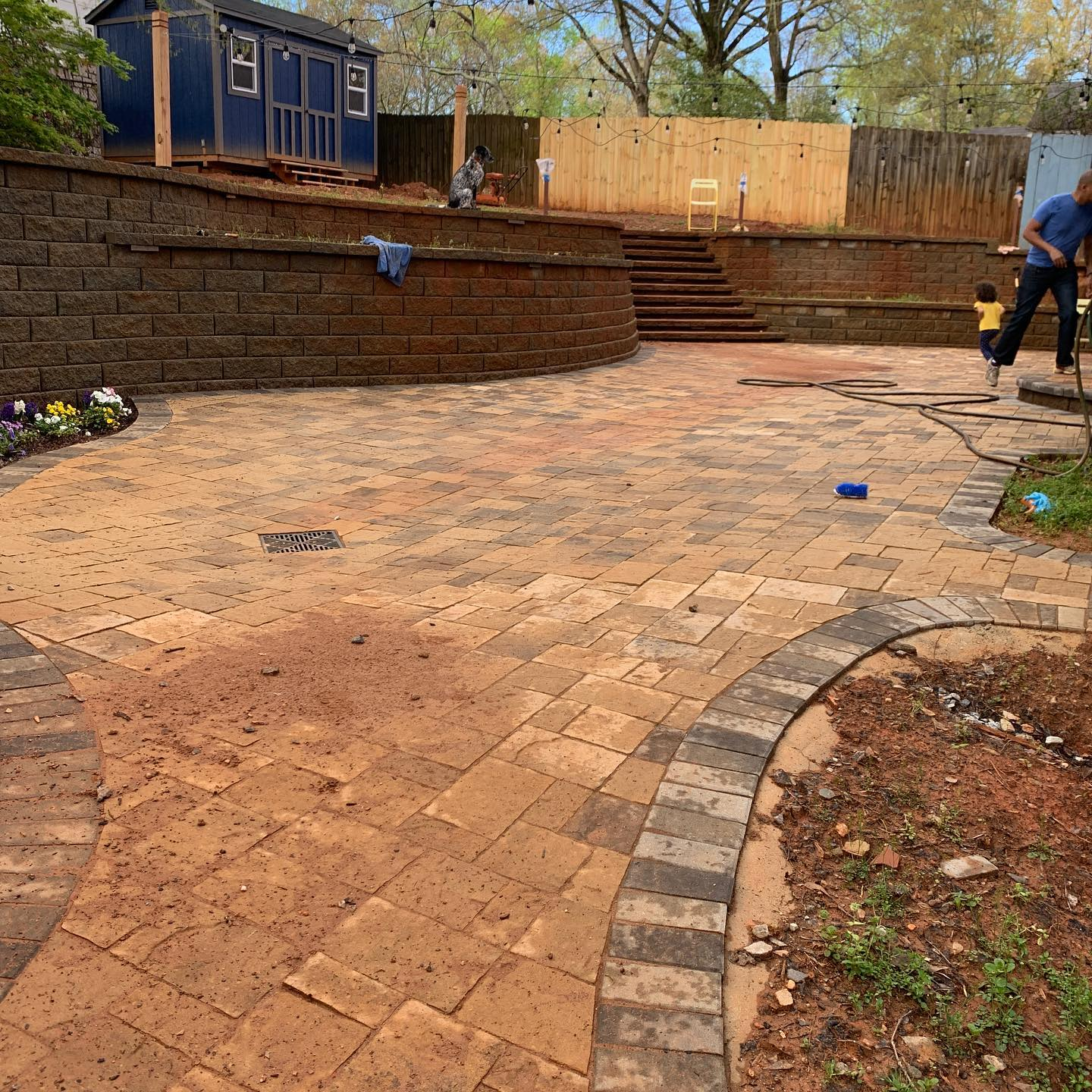 Pavers before4